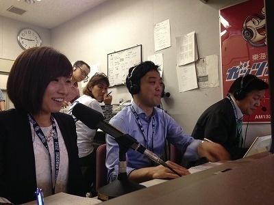 ラジオ 実況